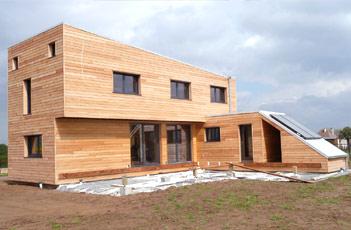 Construction Maison neuve BOIS - Artisans & Associés
